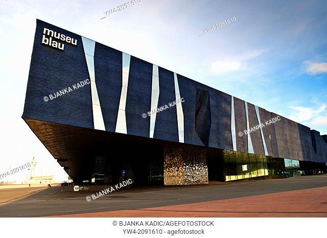 Museu Blau - Blue Museum, Natural History and Science Musuem, Barcelona, Catalonia, Spain