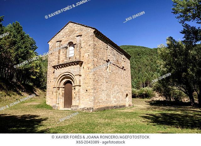 Church of Santa María de Iguácel, Garcipollera valley, Huesca, Spain