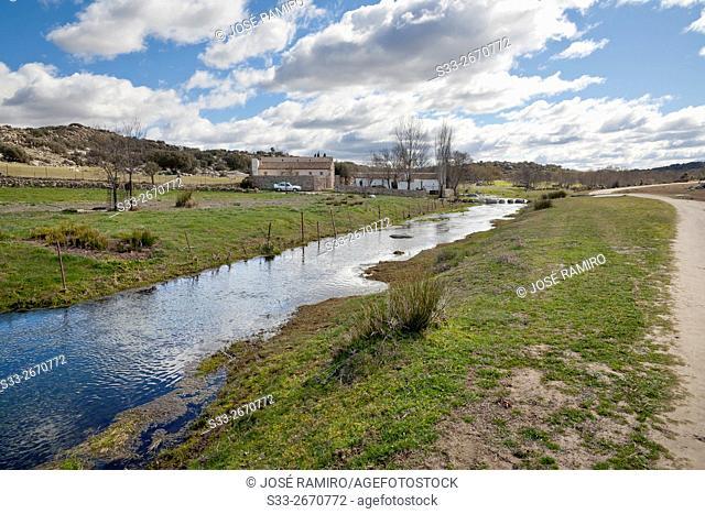 Villapalos mill in San Pablo de los Montes. Toledo. Castilla la Mancha. Spain. Europe