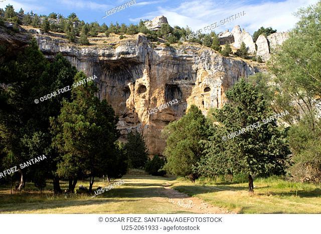 Cañón del Río Lobos Natural Park, Ucero, Soria province, Castilla-Leon, Spain