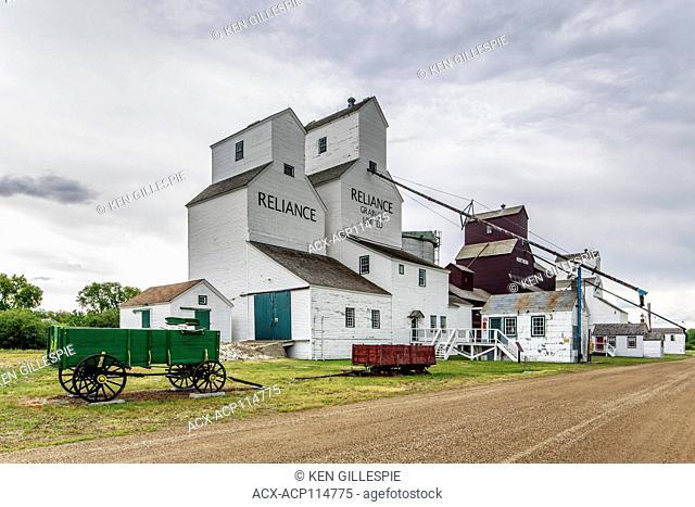 Inglis Grain Elevators National Historic Site, Inglis, Manitoba, Canada