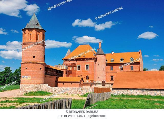 Tykocin - small town in Podlaskie Voivodeship, Poland. Royal castle