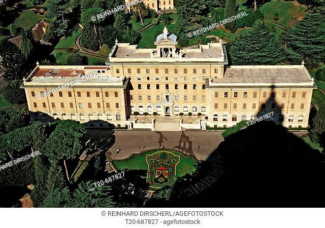 Vatican Palace, Italy, Rome, Vatican City