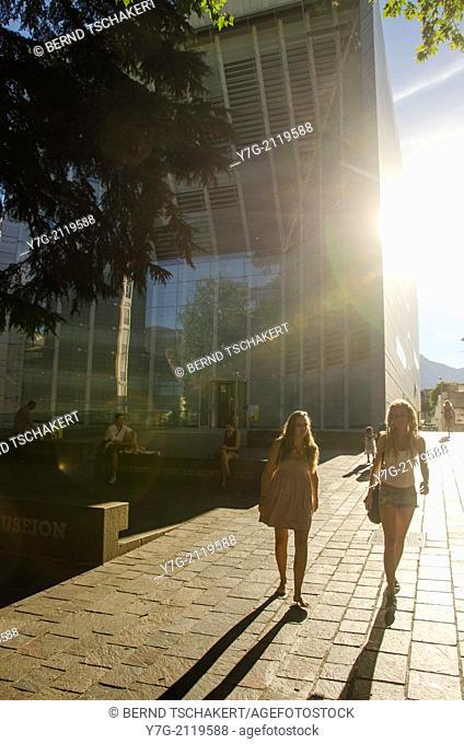 Museion, contemporary art museum, Bolzano, South Tyrol, Itay, Europe