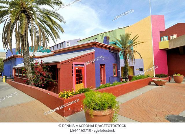 Colorful Placita Village Downtown Tucson Arizona