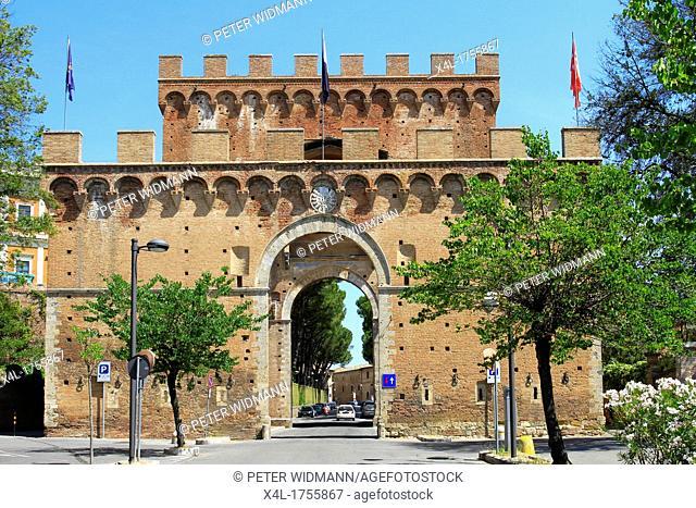 Italy, Tuscany, Siena, Porta Romana