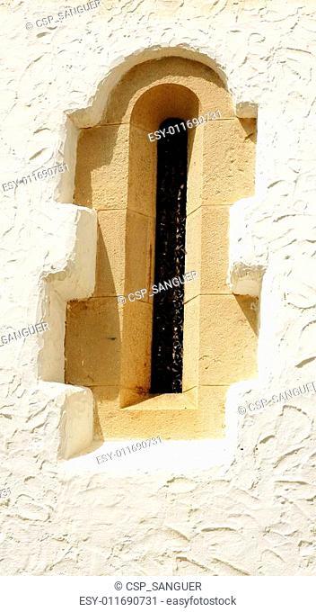 window of the Mar i Cel palace
