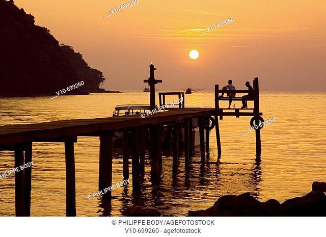 Siam beach, Ko Kood island, Thailand