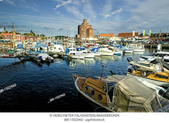 The port in Eckernfoerde, Schleswig-Holstein, Baltic Sea, Germany, Europe