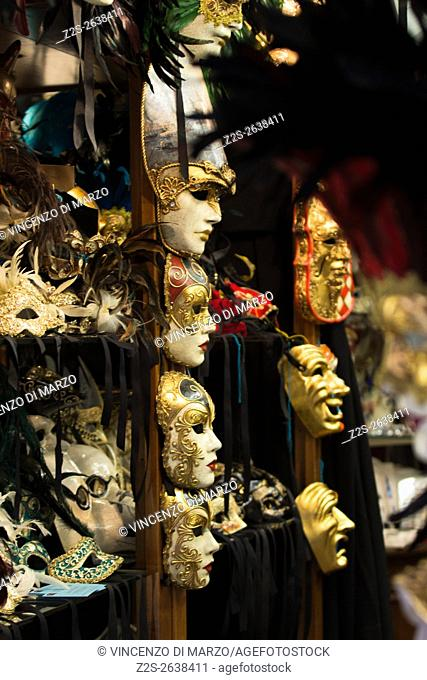 The traditional masks of Venice