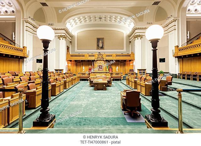 Interior of Saskatchewan Legislative Building