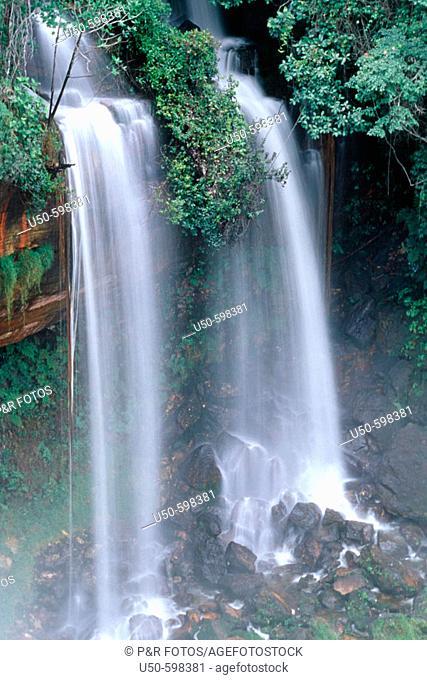 Acaba Vidas Falls, Barreiras. Bahia, Cerrado area, northeast Brazil