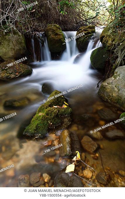 Majaceite river  Sierra de Grazalema Natural Park, Cadiz, Andalucia, Spain