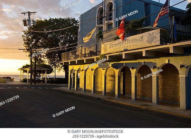 Frederiksted Hotel, Frederiksted, St Croix, US Virgin Islands