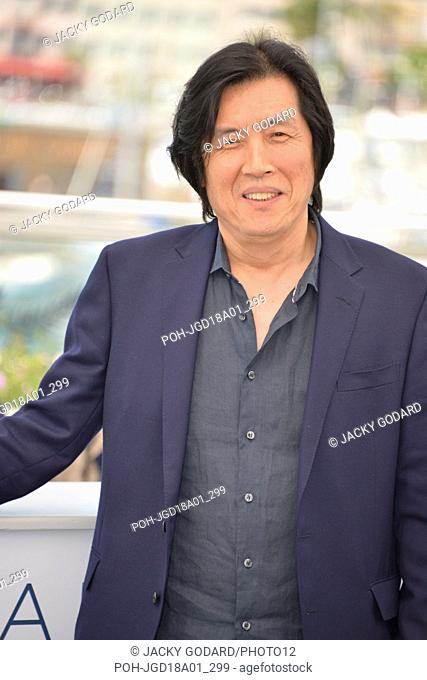 Chang-dong Lee Photocall of the film 'Beoning' (Burning) 71st Cannes Film Festival May 17, 2018 Photo Jacky Godard