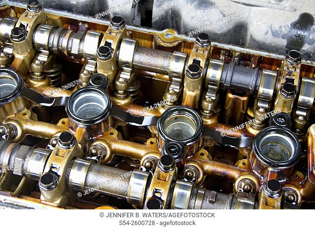 Valves in an automobile
