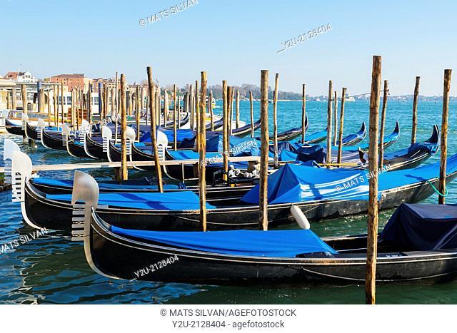 Gondola in Venice Italy