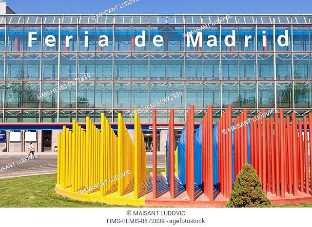 Spain, Madrid, Barajas, campo de las Naciones, congress center Feria de Madrid