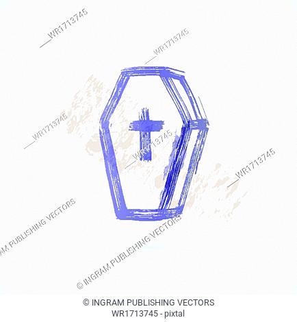 coffin grunge icon