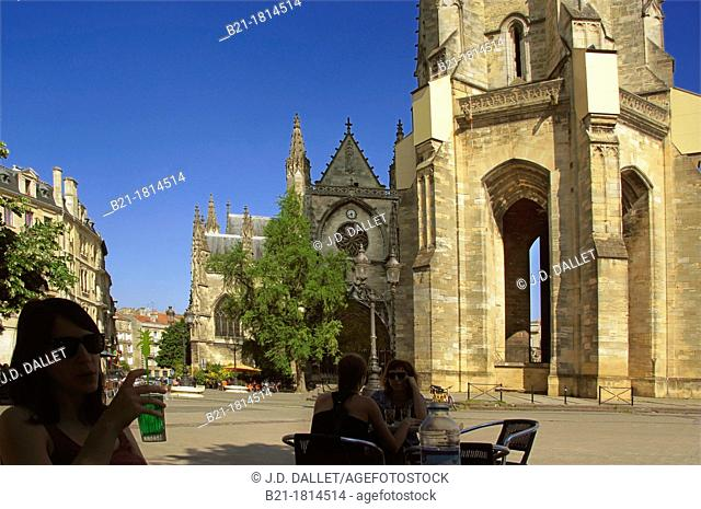 France, Aquitaine, Gironde,  'Basilique Saint Michel', 'Tour Saint Michel', at Bordeaux