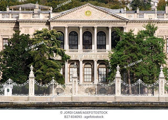 Façade of the Museum of Fine Arts, Besiktas, Istanbul, Turkey