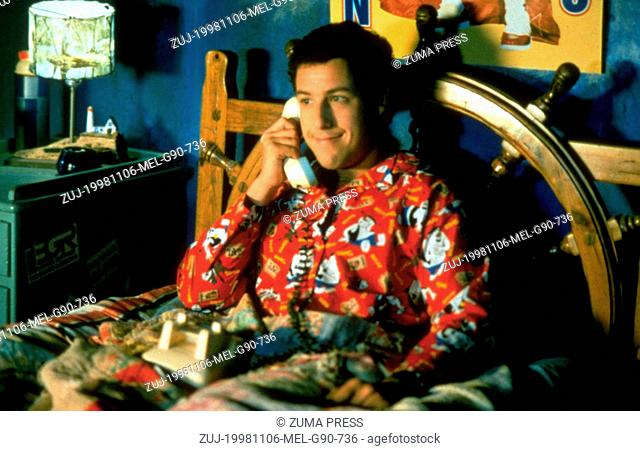 Nov 06, 1998; Orlando, FL, USA; ADAM SANDLER stars as Bobby Boucher in the comedy 'The Waterboy' directed by Frank Coraci