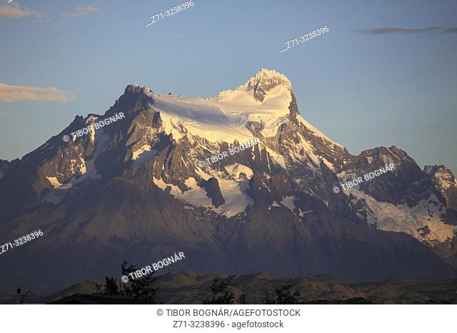 Chile, Magallanes, Torres del Paine, national park, Paine Grande,