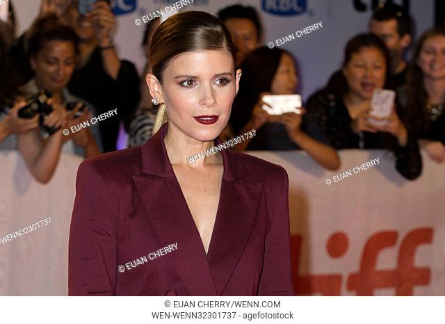 42nd Toronto International Film Festival - 'My Days of Mercy' - Premiere Featuring: Kate Mara Where: Toronto, Canada When: 15 Sep 2017 Credit: Euan Cherry/WENN