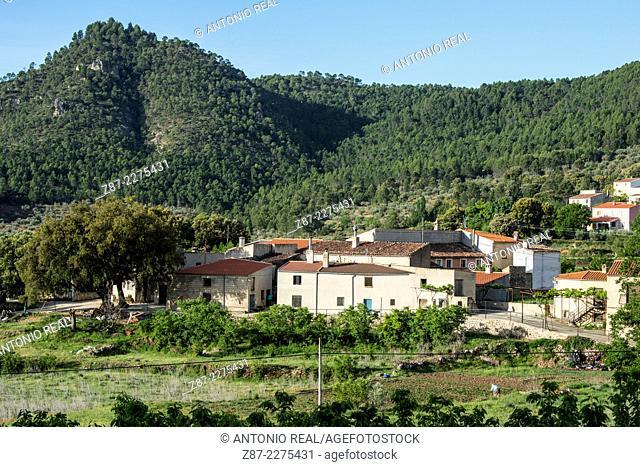 Arguellite, Cuerda de La Melera microreserve, Sierra del Segura, Yeste, Albacete province, Castilla-La Mancha, Spain