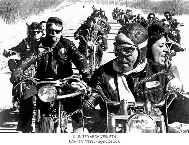 Devil's Angels, aka: Rebellen in Lederjacken, USA 1967, Regie: Daniel Haller, Darsteller: -?-, Dick Anders, John Cassavetes, Beverly Adams