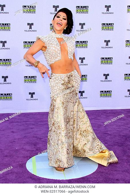 Latin American Music Awards 2017 Arrivals held at the Dolby Theatre in Hollywood, California. Featuring: Alejandra Guzman Where: Los Angeles, California