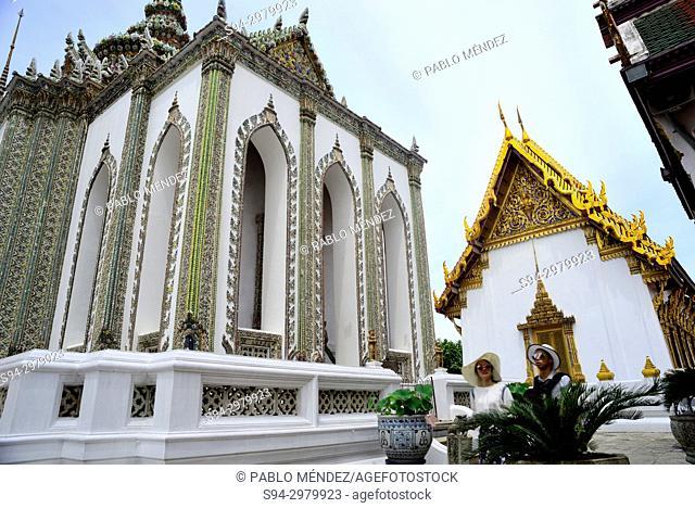 Wat Phra Keow, Bangkok, Thailand