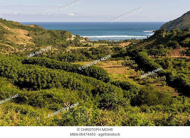 Lombok, scenery of south Lombok