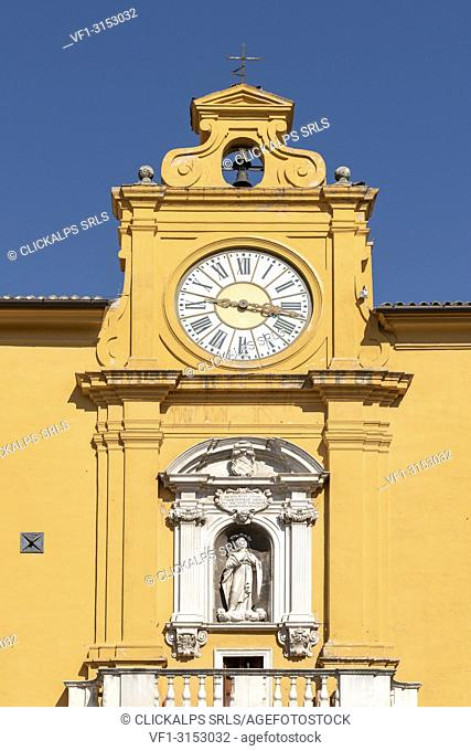 Fermo, province of Fermo, Marche, Italy, Europe. The palace of studies