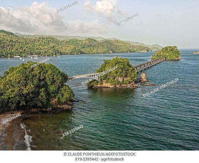 Bridge Los Puentes, Samana, Dominican republic