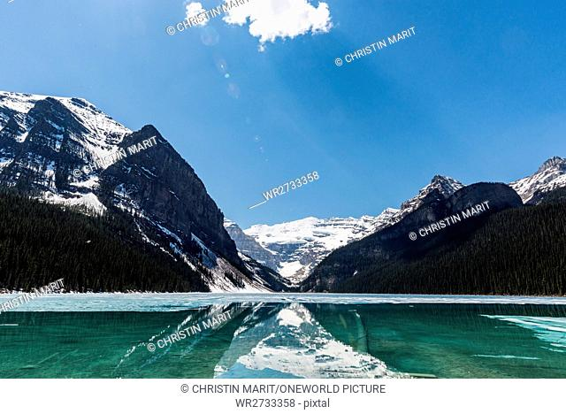 Canada, Alberta, Banff National Park, Clear Lake