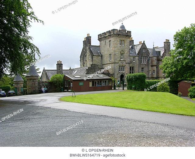 Torosay Castle, United Kingdom, Scotland, Isle of Mull