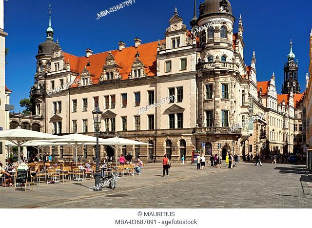 Germany, Saxony, Dresden (capital city), Dresden Castle, court church