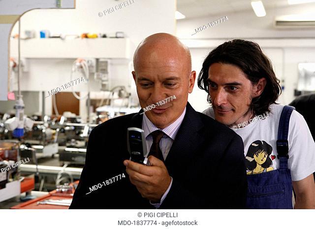 Max Mazzotta and Claudio Bisio