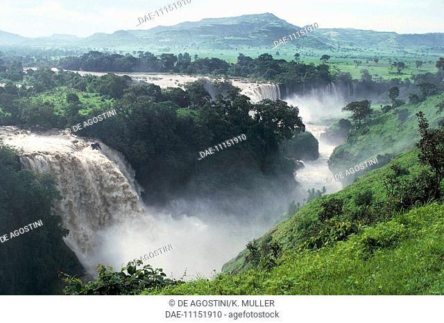 Blue Nile Falls (Tissisat), Ethiopia