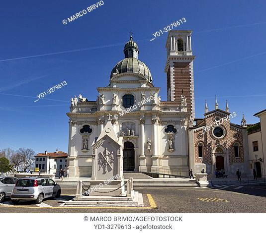 Vicenza, Veneto, Italy. The Church of St. Mary of Mount Berico is a Roman Catholic and minor basilica in Vicenza, northern Italy