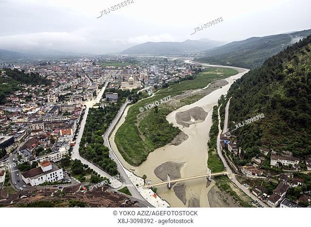 Albania, Berat, landscape