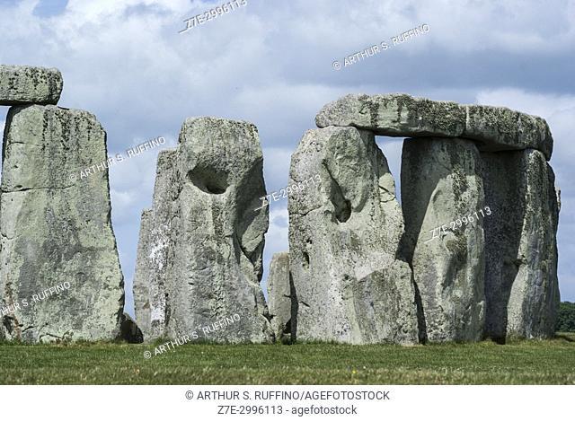 Stonehenge, Wiltshire, England, UNESCO World Heritage Site, Great Britain, United Kingdom