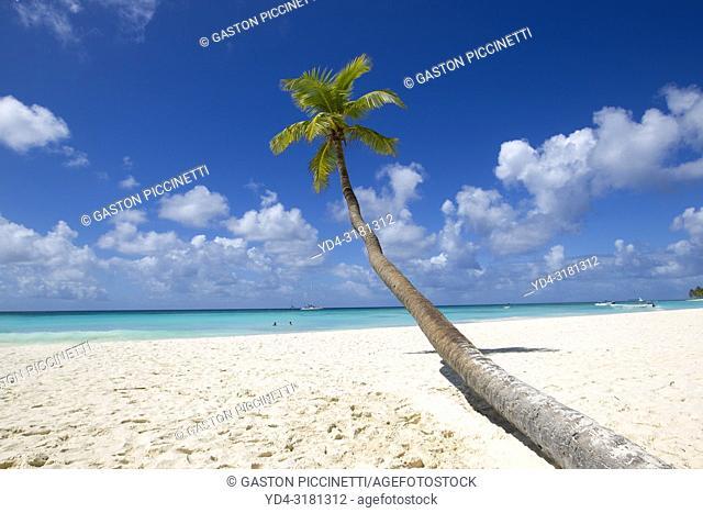 Beautiful beach, Saona Island, Dominican Republic. Saona Island is located in the extreme southeast of the Dominican Republic