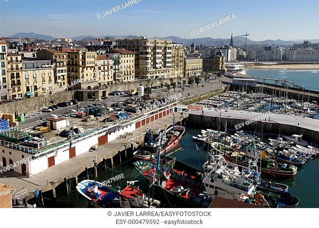 Port, San Sebastian, Donostia, Gipuzkoa, Euskadi, Spain