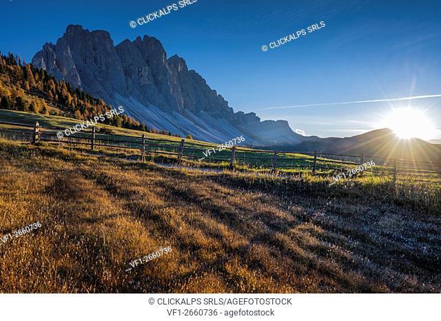 Puez Olde Natural park, Trentino Alto Adige,Dolomites,Alps,Italy