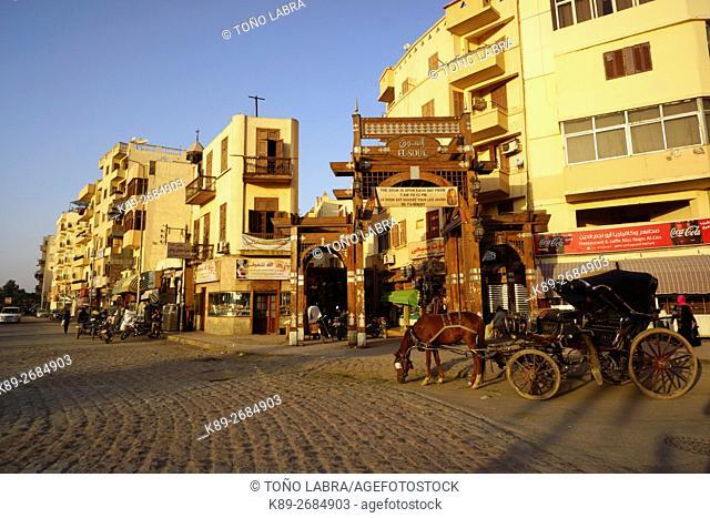 Luxor bazar. Upper Egypt