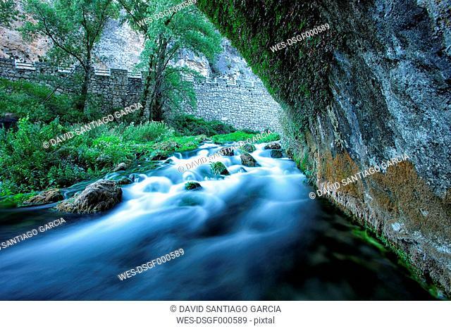 Spain, Cuenca, Escabas river