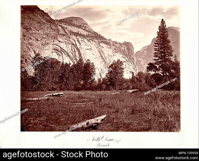 North Dome, 3,725 feet, Yosemite. Artist: Attributed to Carleton E. Watkins (American, 1829-1916); Date: ca. 1872, printed ca