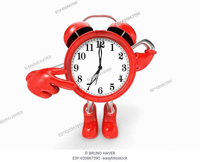 character alarm clock 3